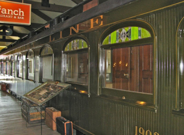 You Won't Believe The Story Behind This Train Hotel