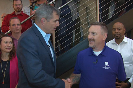 Wounded Warrior Project Registers Veteran 100,000