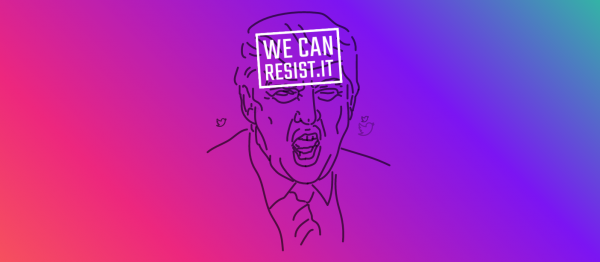 WeCanResist.It Turns Trump's Tweets Into Donations for Charities