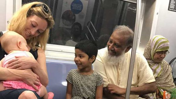 Viral Subway Photo Shows What Really Makes America Great