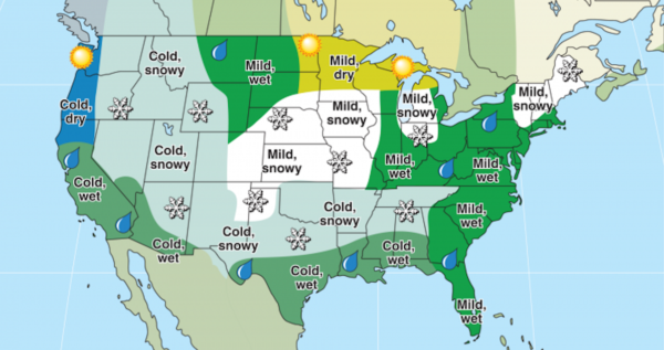 The Farmer's Almanac Gives It's Winter Predictions: You Might Not Want to Read Them