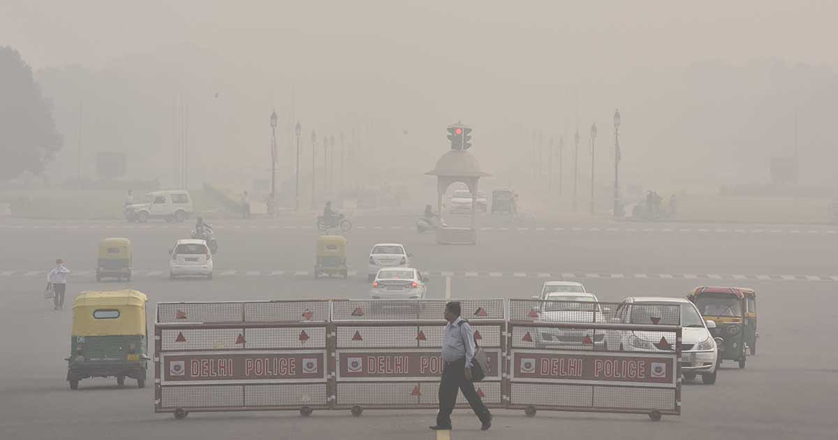 new delhi's air pollution