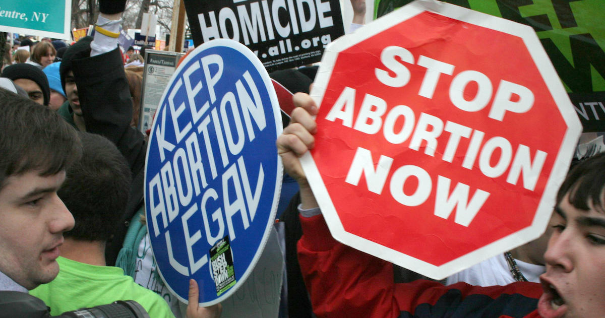 Patrick S. Tomlinson abortion